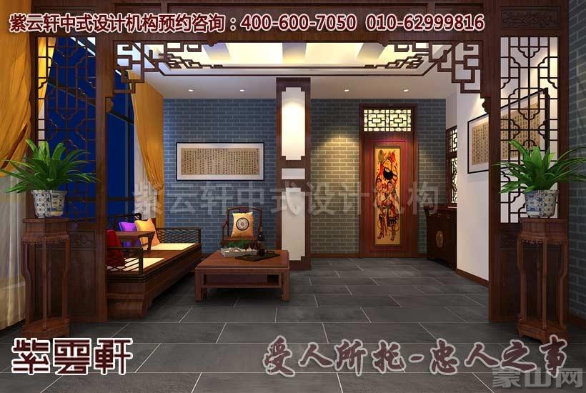 中式风格酒店包间装修效果图   此间的效果图展示的是餐厅